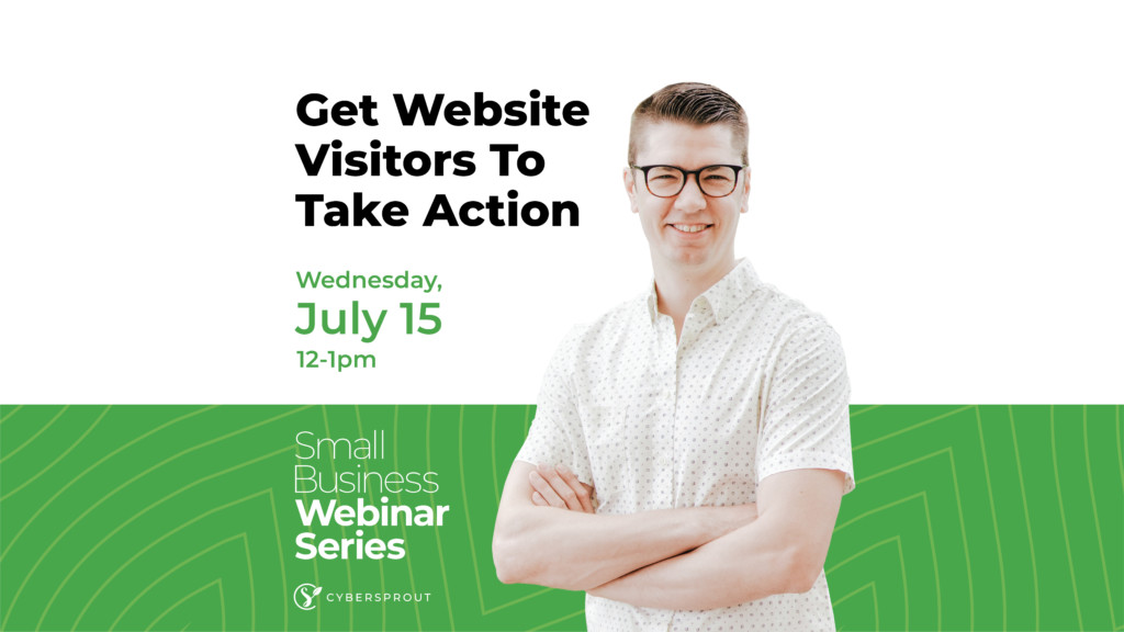 Getting website visitors to take action
